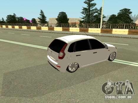 Lada Kalina 2 para GTA San Andreas vista direita
