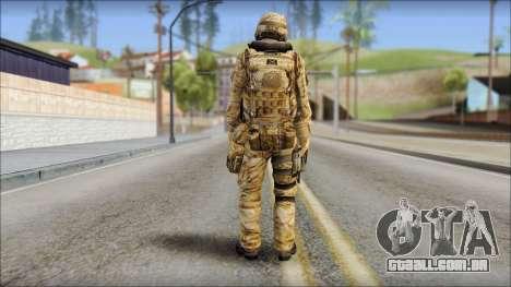 Desert UDT-SEAL ROK MC from Soldier Front 2 para GTA San Andreas segunda tela