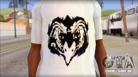 Free Bird T-Shirt para GTA San Andreas terceira tela
