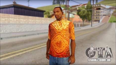 Batik Solo T-Shirt para GTA San Andreas