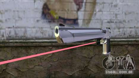 Desert Eagle com mira a laser para GTA San Andreas