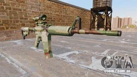 Automático de carabina, MAS a OTAN Camo para GTA 4