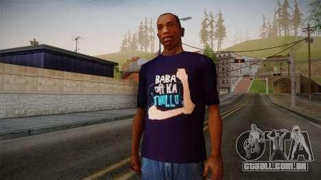 Babaji ka thullu T-Shirt para GTA San Andreas