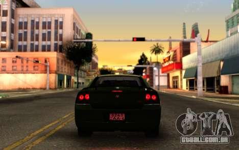 SA_New ENB para GTA San Andreas quinto tela