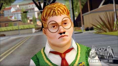 Algernon from Bully Scholarship Edition para GTA San Andreas terceira tela