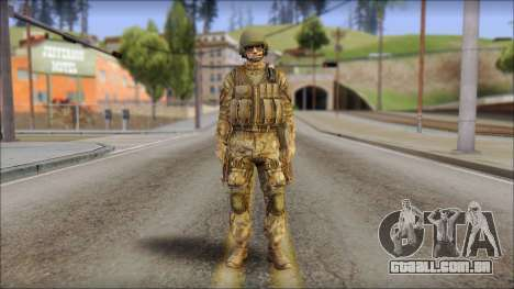 Desert GROM from Soldier Front 2 para GTA San Andreas