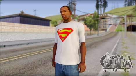 Superman T-Shirt para GTA San Andreas