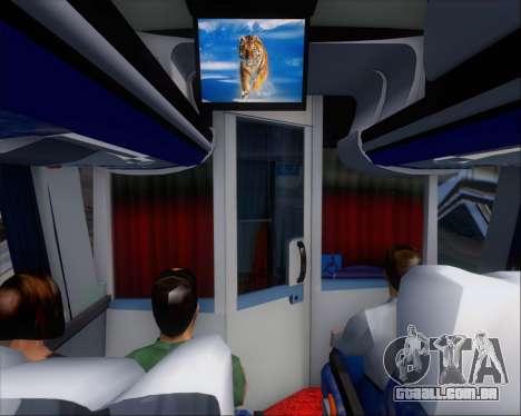 Busscar Vissta LO Scania K310 - Tur Bus para o motor de GTA San Andreas