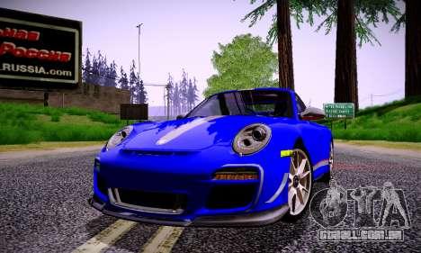 ENBSeries for low PC v2 fix para GTA San Andreas oitavo tela