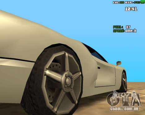 Crazy Car para GTA San Andreas segunda tela