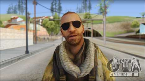 Afganistan Forces para GTA San Andreas terceira tela