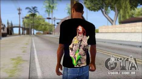 Max Cavalera T-Shirt v1 para GTA San Andreas segunda tela