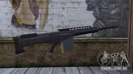 Heavy Sniper from GTA 5 para GTA San Andreas segunda tela