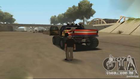 Carro de controle remoto para GTA San Andreas