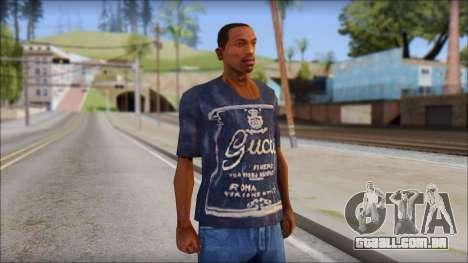 Gucci T-Shirt para GTA San Andreas