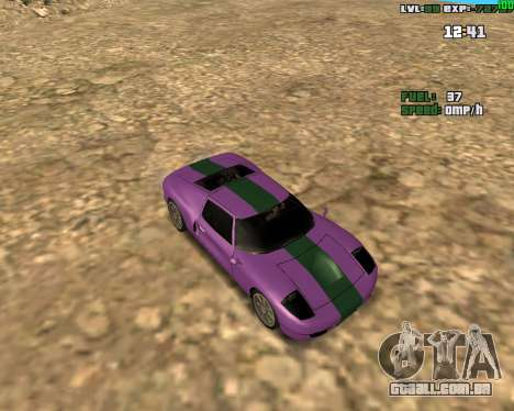 Crazy Car para GTA San Andreas