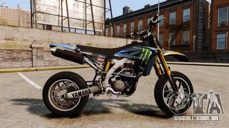 Yamaha YZF-450 v1.8 para GTA 4 esquerda vista