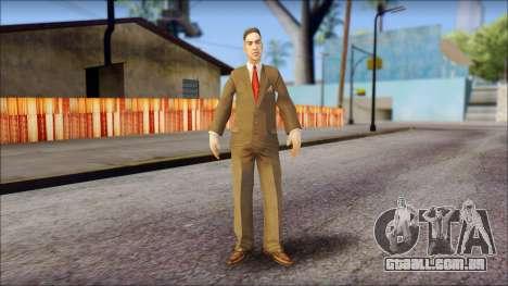 Dr. Crabblesnitch from Bully Scholarship Edition para GTA San Andreas segunda tela