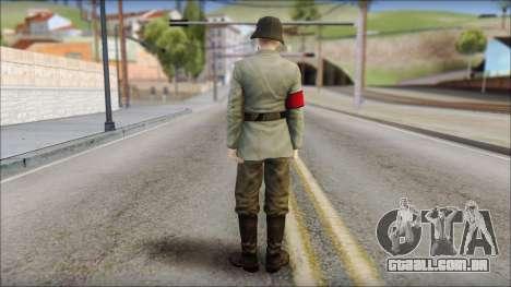 Wehrmacht soldier para GTA San Andreas segunda tela