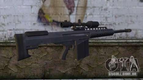 Heavy Sniper from GTA 5 v2 para GTA San Andreas segunda tela