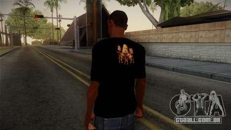 Netral T-Shirt para GTA San Andreas segunda tela