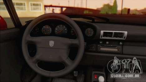 Porsche 911 GT2 (993) 1995 V1.0 EU Plate para GTA San Andreas vista traseira