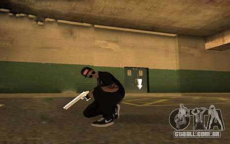 Swag Police para GTA San Andreas por diante tela