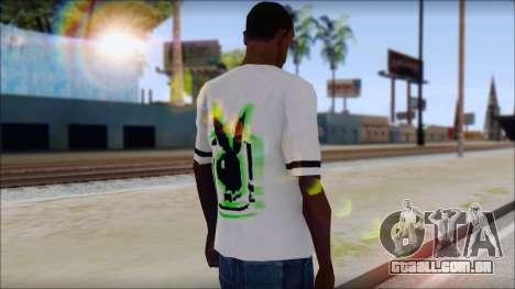 T-Shirt PlayBoy para GTA San Andreas segunda tela
