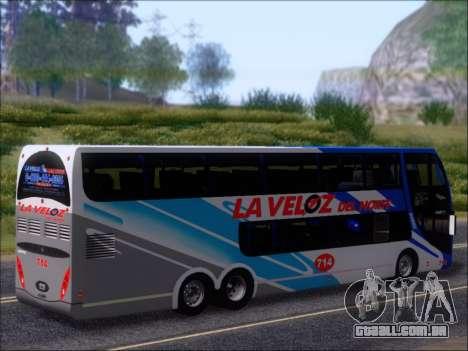 Metalsur Starbus DP 1 6x2 - La Veloz del Norte para as rodas de GTA San Andreas