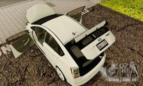 Toyota Prius Tunable para o motor de GTA San Andreas