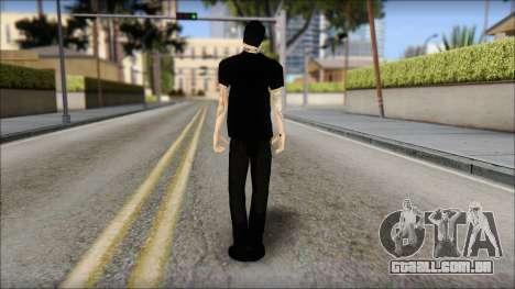 Billy from Good Charlotte para GTA San Andreas segunda tela