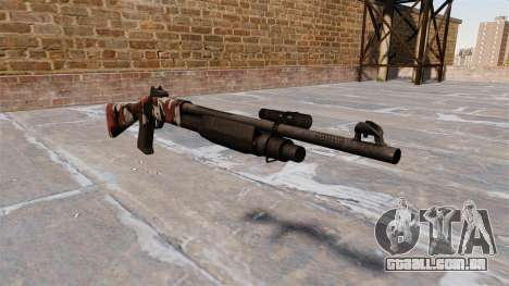 Ружье Benelli M3 Super 90 vermelhos para GTA 4