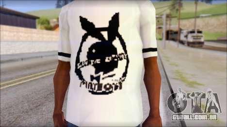 T-Shirt PlayBoy para GTA San Andreas terceira tela