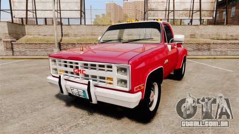 GMC 454 Pick-Up Up para GTA 4