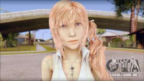 Final Fantasy XIII - Lightning Casual para GTA San Andreas terceira tela