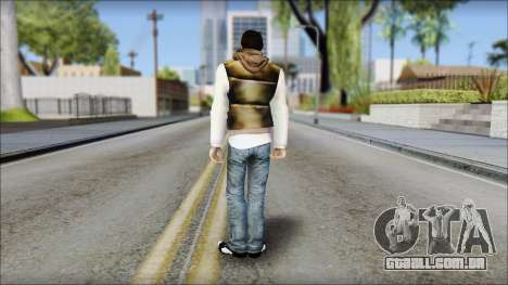 Alex from Prototype Alpha Texture para GTA San Andreas segunda tela