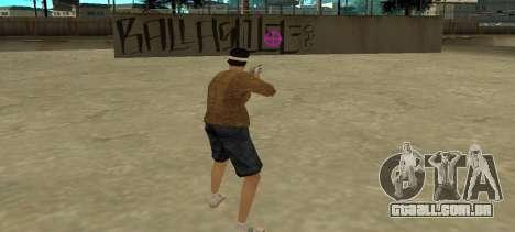 Nova visão para GTA San Andreas segunda tela