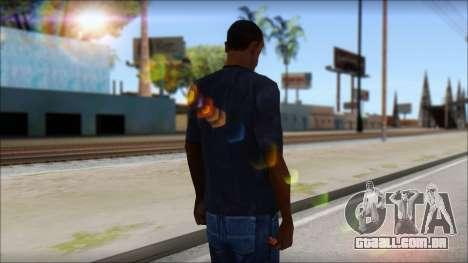 Gucci T-Shirt para GTA San Andreas segunda tela
