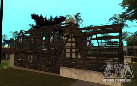 A casa de Call of Duty 4 para GTA San Andreas segunda tela