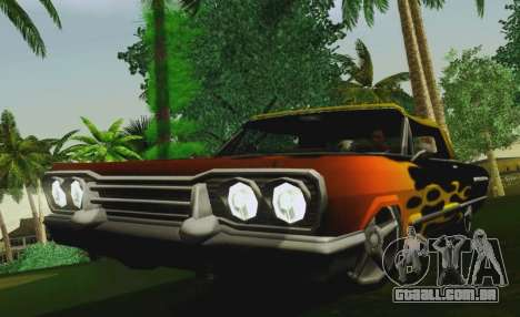 Savanna Coupe para GTA San Andreas vista direita
