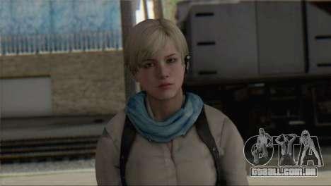 Sherry Birkin Asia from Resident Evil 6 para GTA San Andreas terceira tela