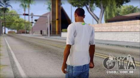 JDM Keep Calm T-Shirt para GTA San Andreas segunda tela