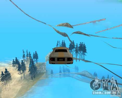 Surf and Fly para GTA San Andreas segunda tela