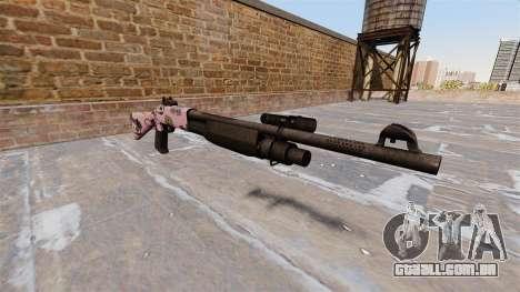 Ружье Benelli M3 Super 90 kawaii para GTA 4