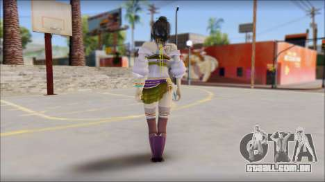 Lebreau From Final Fantasy para GTA San Andreas segunda tela
