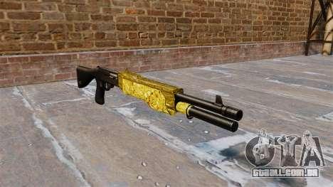 Arma Franchi SPAS-12 de Ouro para GTA 4