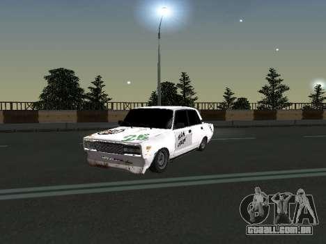 VAZ 2107 Vagabundo para GTA San Andreas