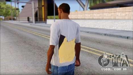 T-Shirt Hands para GTA San Andreas segunda tela