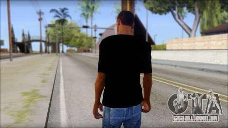Trapheim T-Shirt Mod para GTA San Andreas segunda tela