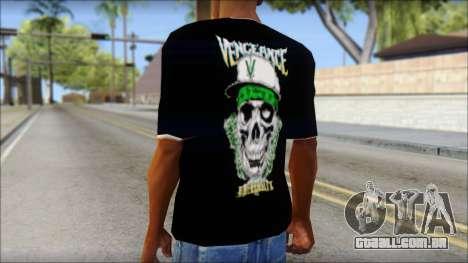 A7X New T-Shirt para GTA San Andreas segunda tela